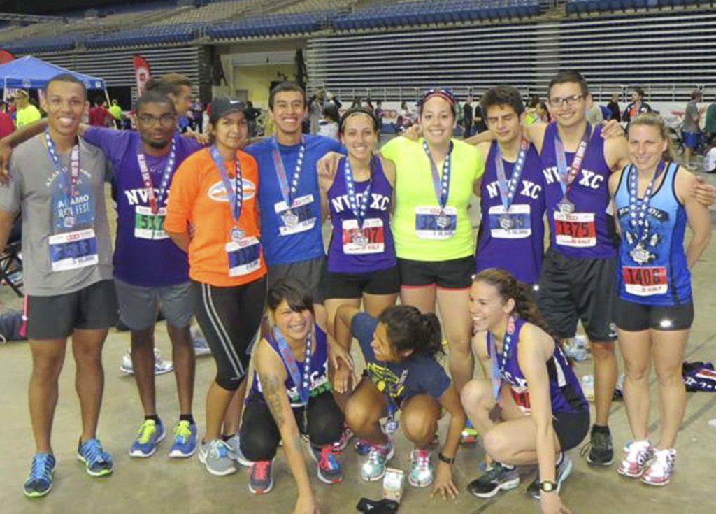 NVC Cross Country Team