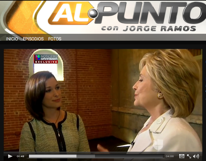 Hillary Clinton Interview